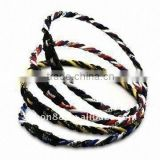 new balance energy germanium America hot sale braided titanium ion baseball sports necklace