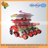 Farm automatic 4 rows vegetable seed garlic planting machine with tractor
