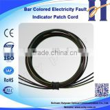 Bar Colored Electricity Fault Indicator Patch Cord Low defective rate Fiber Optic Cable