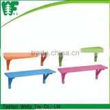 Colorful living room decorative wooden mounted wall shelf design , wall shelf                                                                         Quality Choice