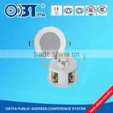 2.5'' 3w 100v bathroom ceiling speaker , pa commercial audio system waterproof speaker