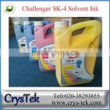 CRYSTEK Challenger SK4 Digital printing solvent ink for SPT printhead