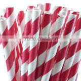 Different Patterns Christmas Party Straws For Your Choice ,Food Grade Paper Straw Party Supplies