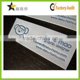 2015 Top paper calling card, debossing paper visiting card,paper business card printing                                                                         Quality Choice