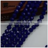 AAA quality glass beads manufacturers fashion dark blue african beads jewelry set crystal beads stands