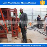 2016 Trade Assurance WT2-10 interlocking brick machine kenya low investment high profit business