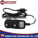12v 0.5a power adapter (UK EU US ZA IT plug DC plug of output cable Barrel type right angle 5.5x2.1mm with SAA FCC)