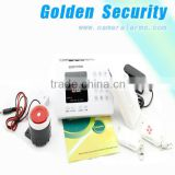 arm/disarm by remote control and phone call PSTN security alarm system with emergency mode