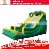 commercial grade inflatable games/commercial grade giant inflatable water slide for sale