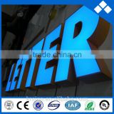 Acrylic Materia advertising light letters sign and led channel letter signs manufacturer