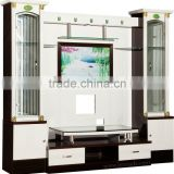 Beautiful style tv hall cabinet living room furniture designs 700108