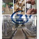 large capacity hygiene class full set stainless steel Cassava tapioca garri processing machine