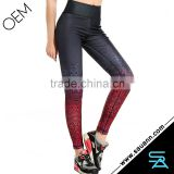 Hot Slimming Shapers Pants Paisley Gradient Pants Sport Wear Brazilian Fitness Wear