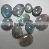 Labradorite 18*25 mm oval cabochon-loose blue gemstone and semi precious stone cabochon beads for jewelry components