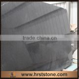 Polished black pearl indian granite slab price