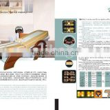 AYJ-08B multifunction far infrared thermal jade massage bed for full body with MP3 and auto lift