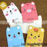 Innovative and creative stationery products custom fancy fashion sticky note pad N times posted as sets paper craft gifts