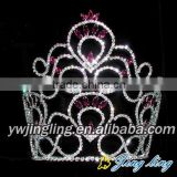 tall and lage full pageant round crowns
