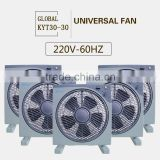 Electric fan 110v or 220v box fan Silent Energy saving electric fan Modern energy-saving fan
