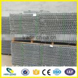 CE Certificate Galvanized Galfan woven gabion basket / stone cage for retaining wall / hesco