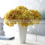 Factory direct artificial flowers large artificial flower heads wholesale silk flower hydrangea