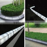 waterproof solar path led lighting curb ,led light night street curbstone, colorful led curbstone