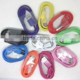 Colorful micro usb cable for Blackberry Bold 9700