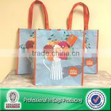 Lead Free Sublimation Printed 100% Post-consumer Plastic Bottles RPET Spun Bond Non-woven Bag