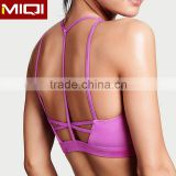 Active wear wholesale sexy strappy back design sports bra for women                                                                                                         Supplier's Choice