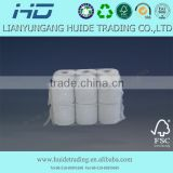 Pure wood pulp biodegradable tissue paper