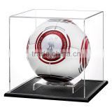 high quality clear acrylic basketball display case