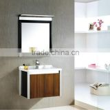 Aluminum magnesium alloy wholesale wall single sink luxury hotel bathroom cabinet manufacturer