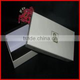Elegant Style New Hot Carton Ladies White Cardboard Shoes Box Design Low Moq With High Quality