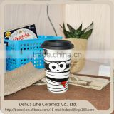 NEW 12oz Chinese Ceramic Sublimation Double Wall Coffee Mug
