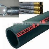 2013 Hot Sale! DN125 5inch 4 Wire Layers 85Bar Concrete Pump Rubber Hose Factory In China