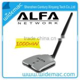 Alfa Wireless Adapter with 5dBi antena, Alfa high power wireless USB adapter 8187L Chipset