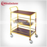 Kitchen Food Service Equipment, Classic 3 tier Dessert&Tea&Drink Service Trolley Cart