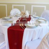 facotry sell simple design table runner for dinning table or wedding decoration
