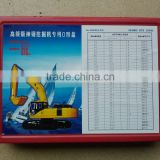 Best quality & advanced excavator Rubber O-Rings Kit/ O-ring Set / O- Ring Box with many size