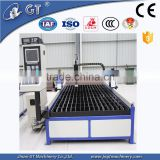 Chinese CNC Plasma Cutting Machine for Aluminum / Metal Plate / Industrial Plasma Machine for stainless steel