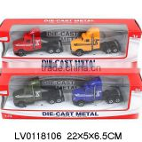 Mini die cast car model toy car for kid Sliding Alloy Truck toy