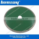 Boreway 250x2.2x10x30mm continuous rim diamond saw blade for cutting calcium silicate board