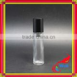 10ml glass roller ball bottle with plastic caps with clear roller glass bottle taiwan suppliers