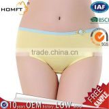 Latest Women Solid Color Bamboo Fiber Seamless Underwear