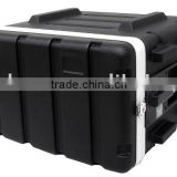 6 Space Rack ABS Flight ATA Road Case with lock