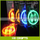 High quality LED Shoelaces with Continuous and 2 Blinking Modes Flash Lighting the Night for Party Hip-hop Dancing