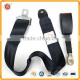 Factory sale universal 2-point safety belt,harness adjustable car seat belt for promotion