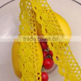 4cm China factory Wholesale Bulk Narrow Stretch tablecloth Lace Trim c400215