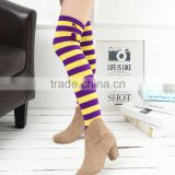 wholesale ladies leg warmer women boot socks beautiful acrylic leg warmer knit boot topper(KLW-0006)