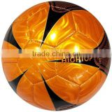 size 5 laser PVC football manufacturer ,small MOQ customized soccer ball ,promotion and advertising sports ball